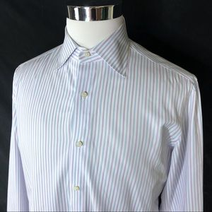 ISAIA Mens button up long sleeve size 16-41 XL